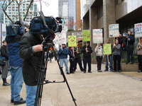 EMERGENCY PICKET AGAINST CANADIAN OCCUPATION OF AFGHANISTAN!